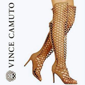 Vince Camuto Keliana Diamond-cutout Sandals